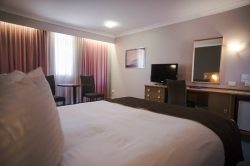 Treat yourself to a spacious Queen Executive Room